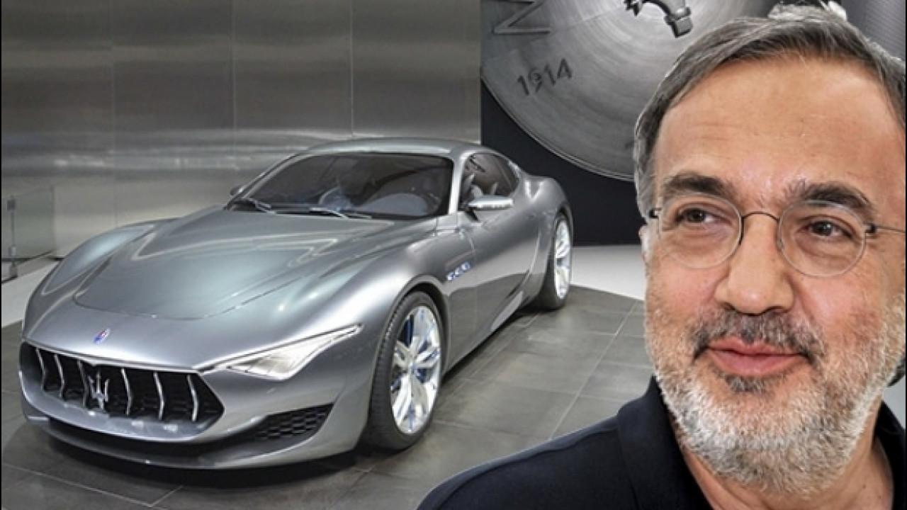 [Copertina] - Marchionne, una Maserati elettrica per rispondere a Tesla