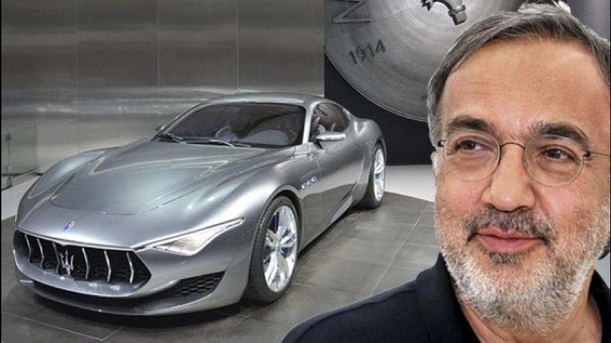 Marchionne, una Maserati elettrica per rispondere a Tesla