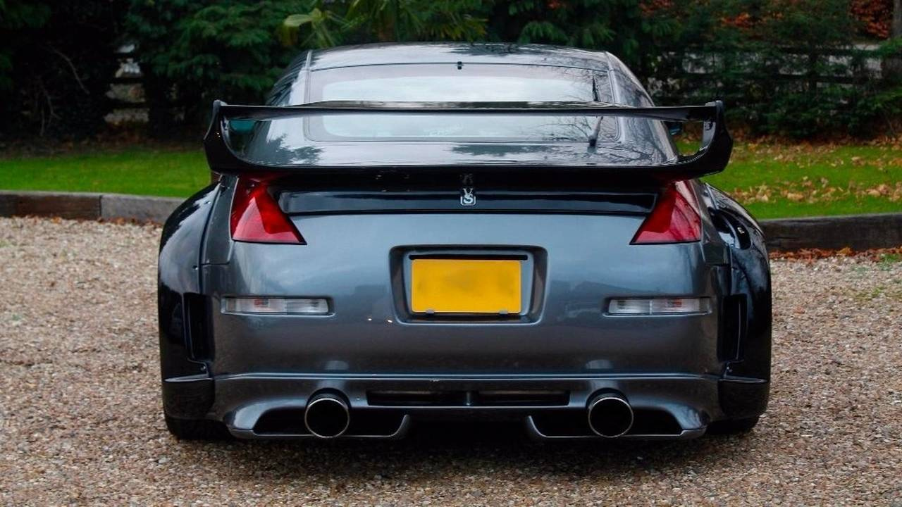 Nissan 350z From Tokyo Drift Is For Sale In Uk For 133k