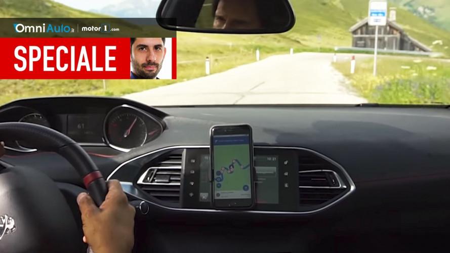 """Andreucci CoDrive, l'app per smartphone che """"spiana"""" le curve"""