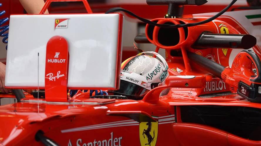 Vettel lidera el último test de F1 2017, con Sainz 6º y Kubica 7º