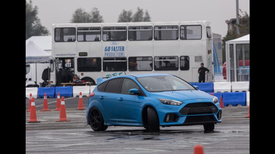 Ford Performance, stunt-man per un giorno con la Focus RS