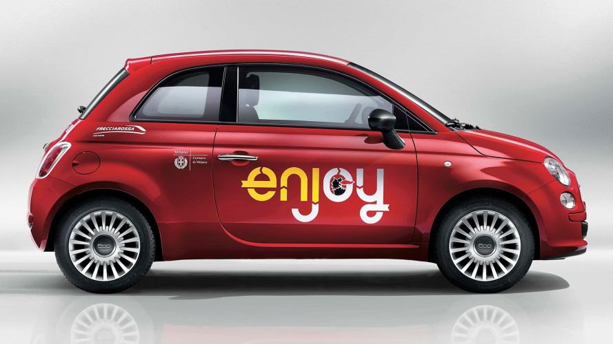 Enjoy, la tariffa del car sharing scende a 20 centesimi al minuto