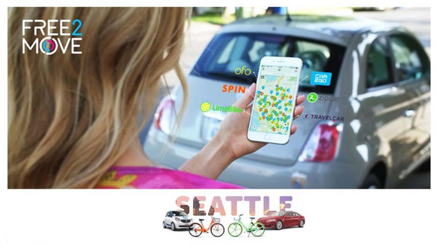 Groupe PSA lancia l'app Free2Move negli USA