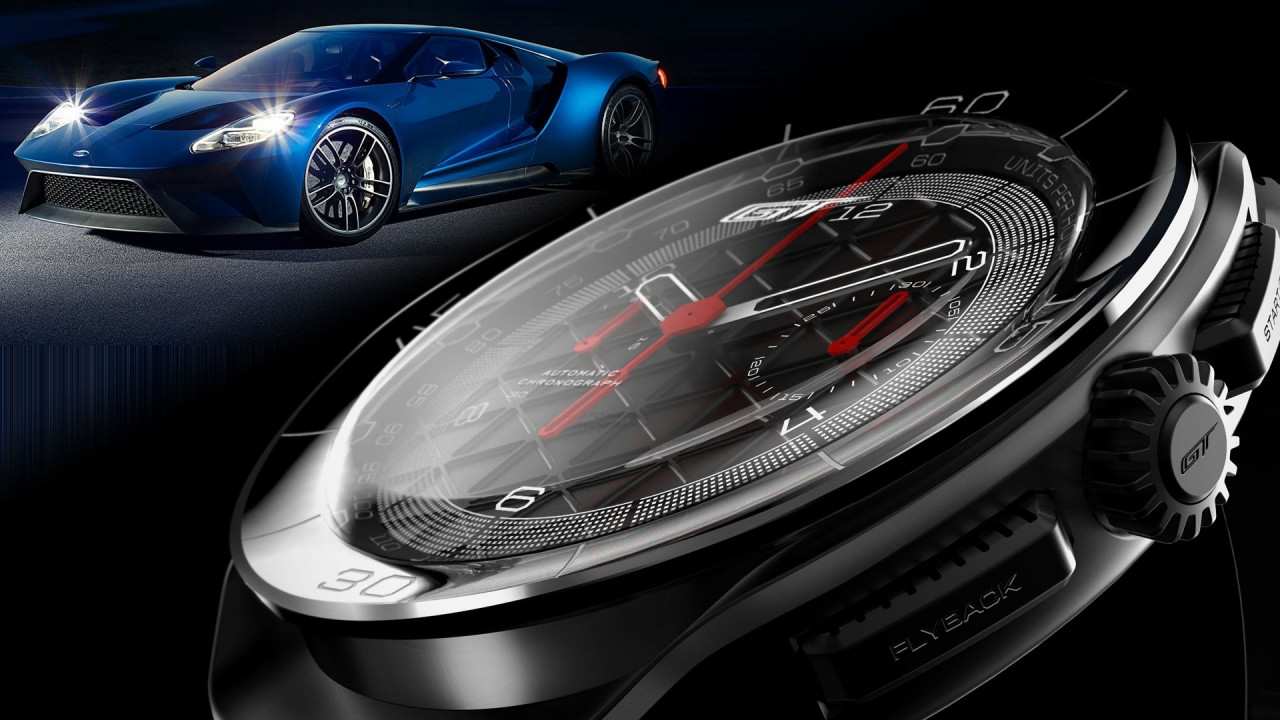 [Copertina] - Ford GT, due orologi dedicati