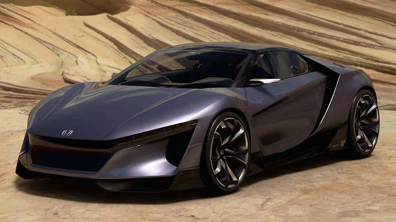 [Copertina] - Honda Sports Vision GT, virtuale dal fascino reale