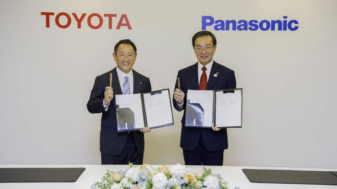 Toyota and Panasonic
