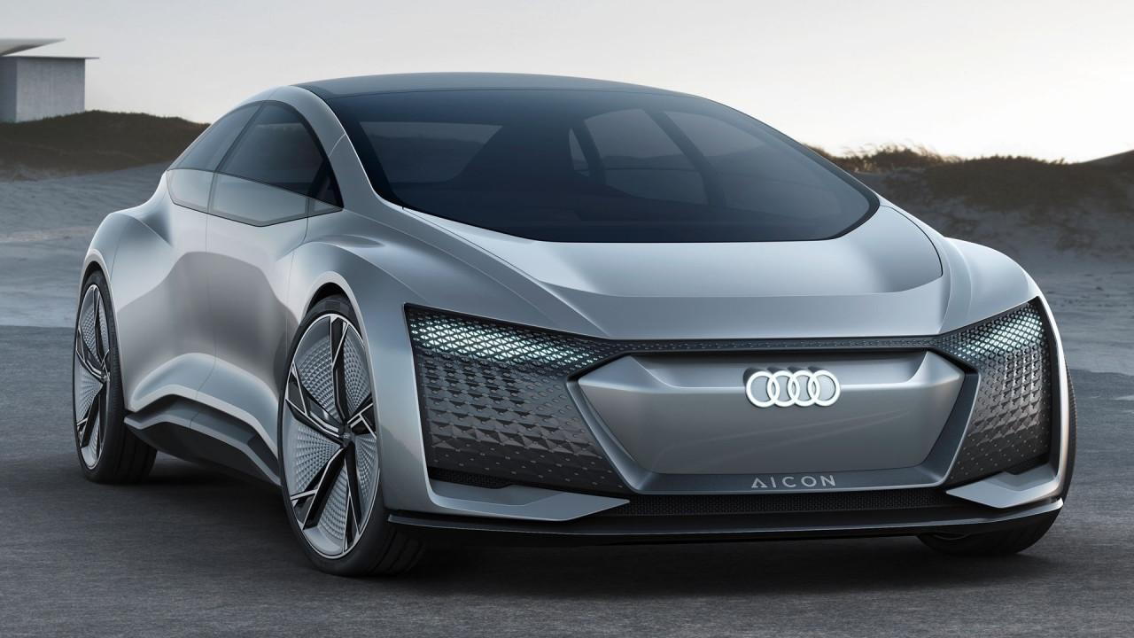 [Copertina] - Salone di Francoforte: Audi Aicon concept, l'auto senza volante