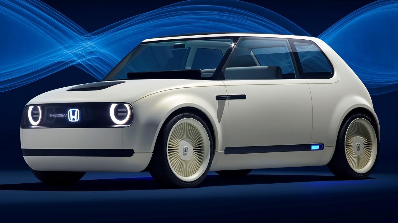 [Copertina] - Salone di Francoforte: Honda Urban EV Concept, elettrica dal gusto retrò