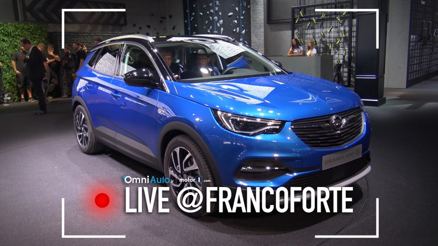 Salone di Francoforte: Opel Grandland X vista da vicino [VIDEO]