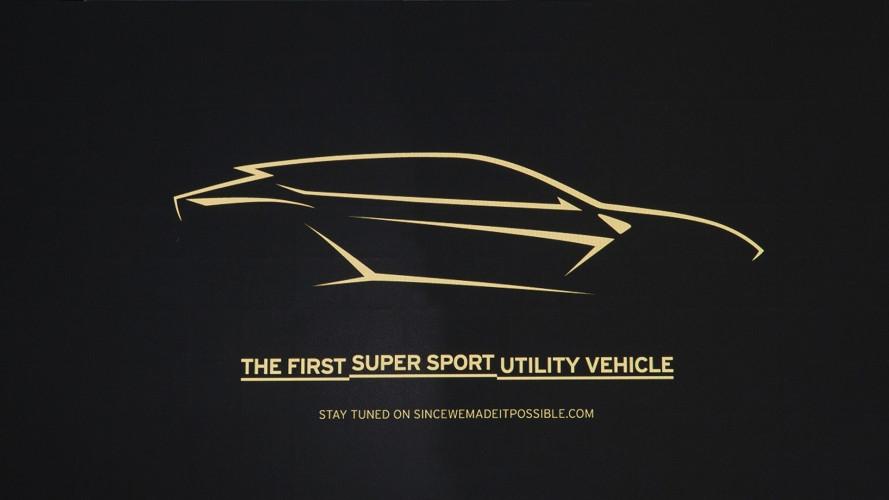 Lamborghini Urus, data di nascita lunedì 4 dicembre 2017