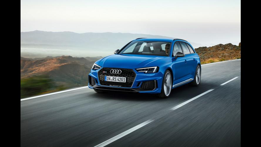 Salone di Francoforte: nuova Audi RS 4 Avant, la famiglia va veloce