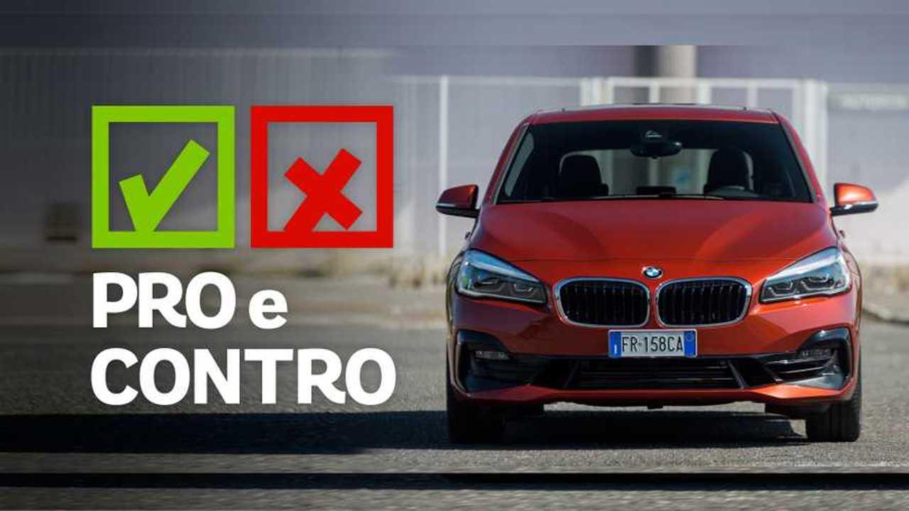 BMW Serie 2 Active Tourer 220i Sport, pro e contro