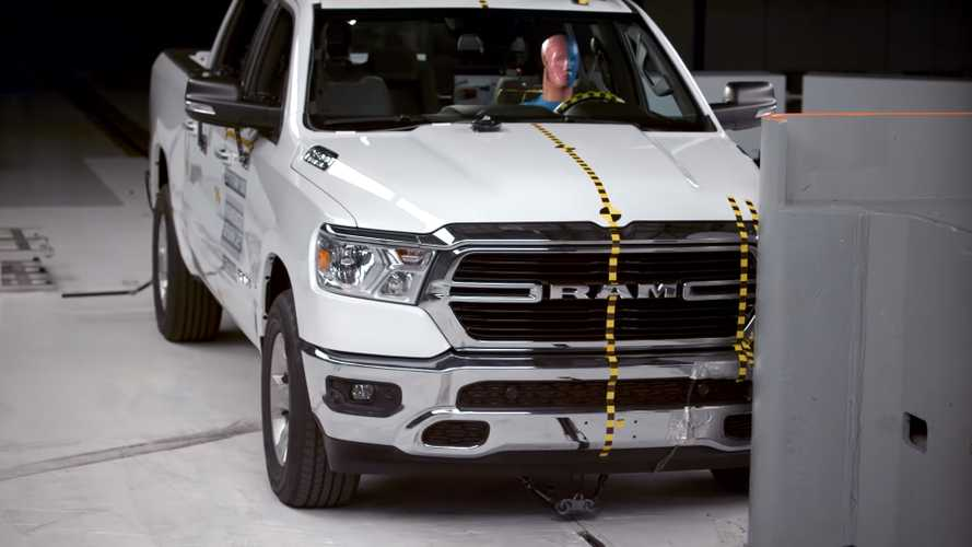 Watch New Ram 1500 Sacrifice Itself For Better Crash Rating