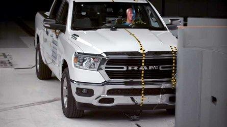 Watch New Ram 1500 Sacrifice Itself For Better Crash Rating
