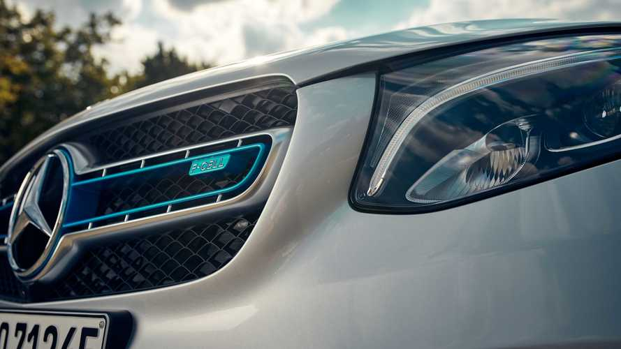 Mercedes GLC F-Cell 2018 Auslieferung