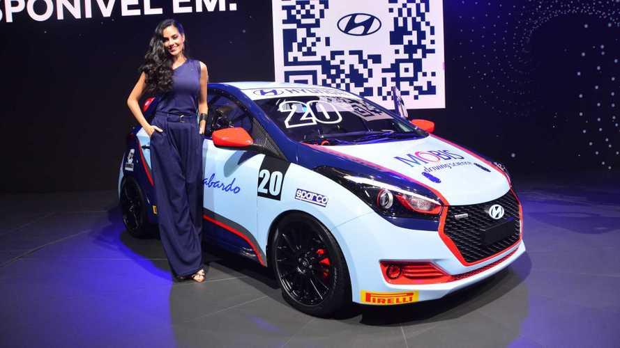 Hyundai anuncia categoria no automobilismo brasileiro com HB20