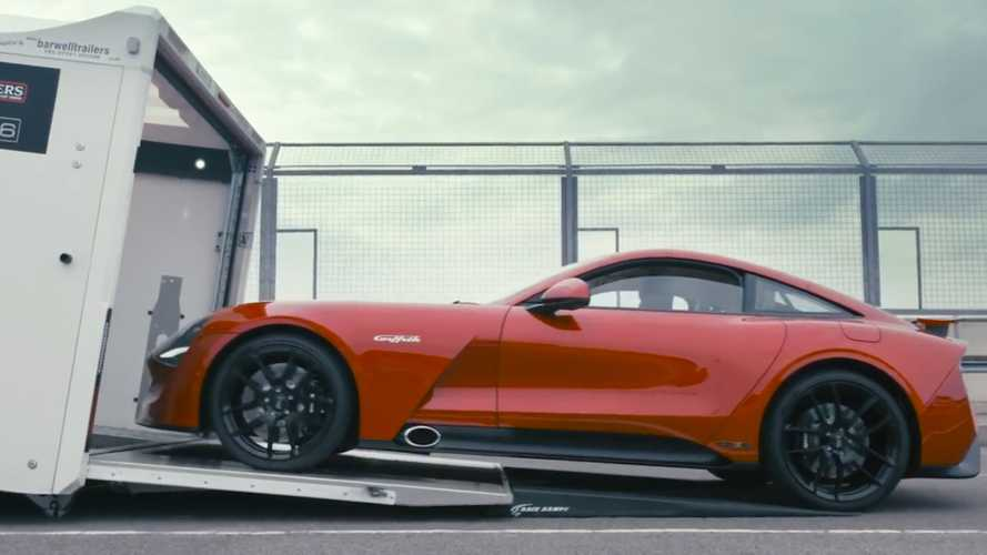 See The New TVR Griffith Tackle A Track With Its Throaty V8