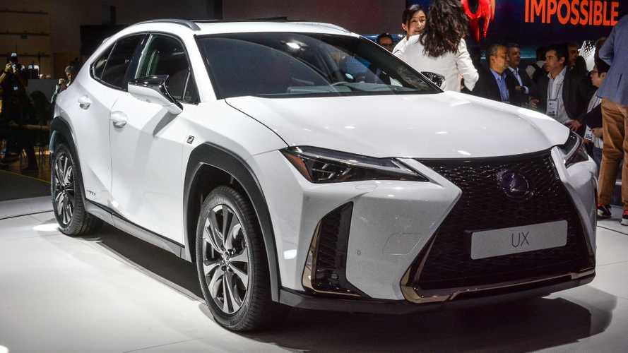 Lexus UX 2019  no Salão do Automóvel de SP