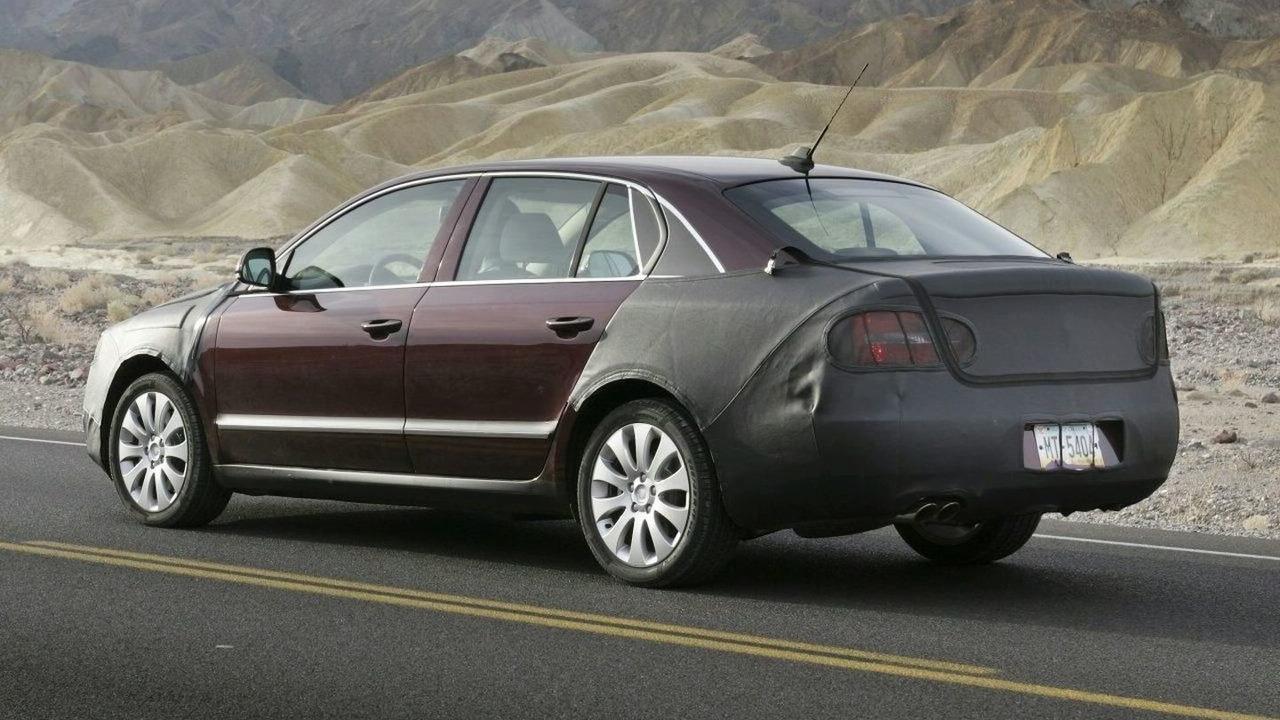 2009 Skoda Superb In Death Valley Usa Motor1 Com Photos