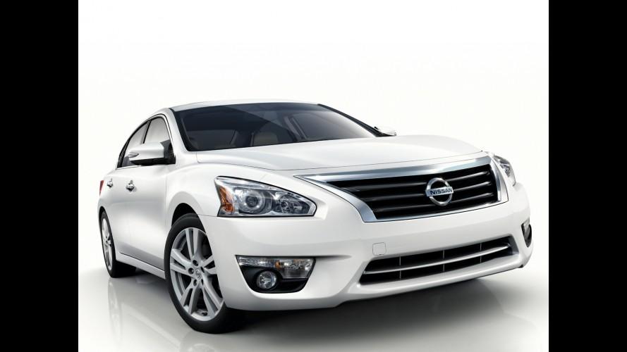 Nissan Altima já é vendido no Brasil por R$ 99.800