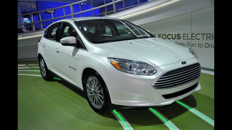 Ford Focus é o primeiro Pace Car elétrico da NASCAR