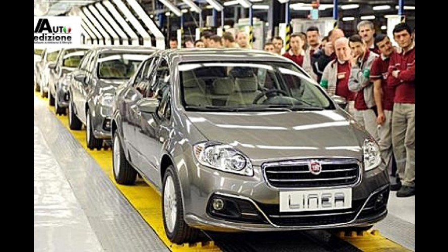 Fiat Linea reestilizado já está sendo produzido na Turquia
