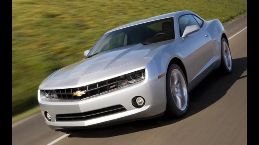 Chevrolet confirma versão 2SS, cores e rodas do Camaro para o Brasil