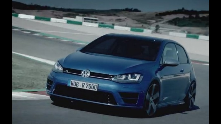 Vídeo: confira as habilidades do novo Golf R de 300 cv na pista