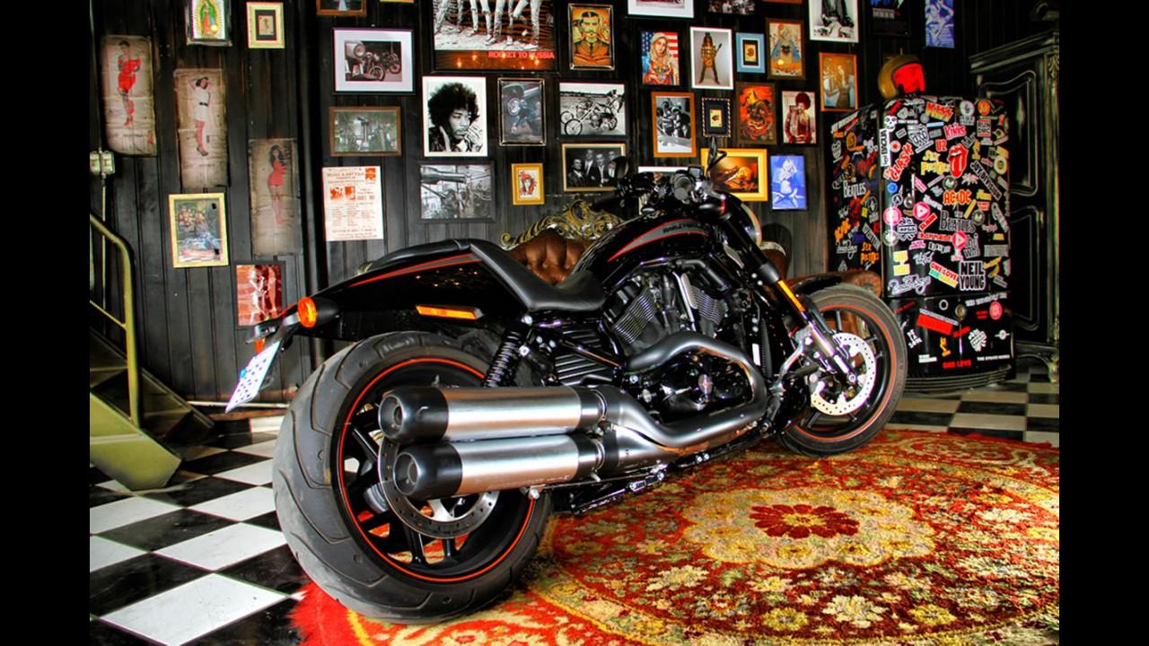 Avaliacao Harley Davidson Night Rod E O Lado Negro Da Forca