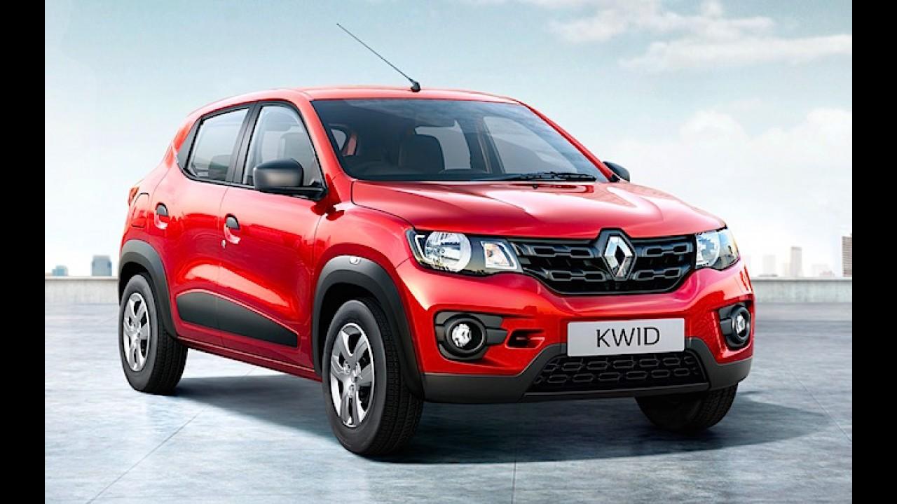Bom de loja: Renault vai dobrar produção do Kwid para atender alta demanda