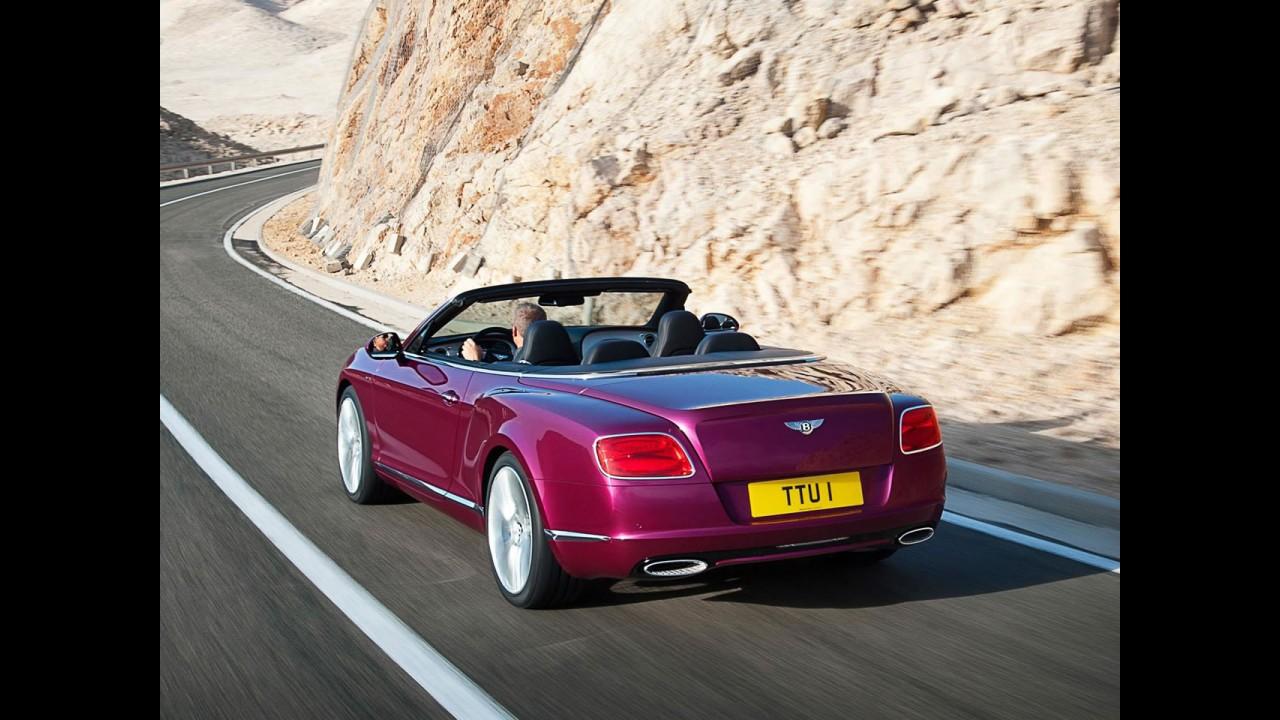 Fotos do Bentley Continental GT Speed Conversível 2013 vazam na web