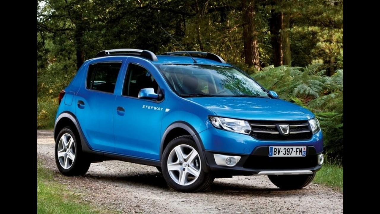 Novo Dacia Sandero Stepway custará o equivalente a R$ 27.000 no Reino Unido