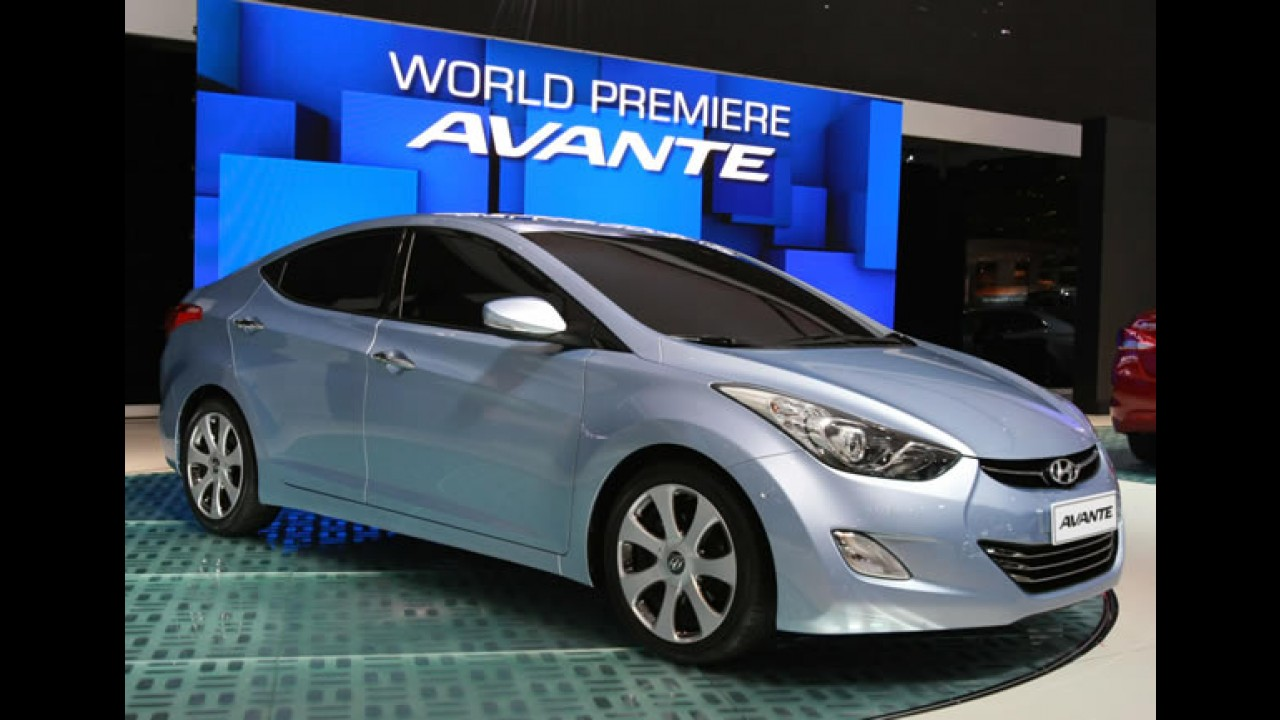 Hyundai apresenta na Coréia do Sul o novo Elantra (Avante) - Veja fotos
