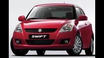 Suzuki apresenta o Novo Swift 2011 - Modelo tem consumo de até 26,9 km/litro