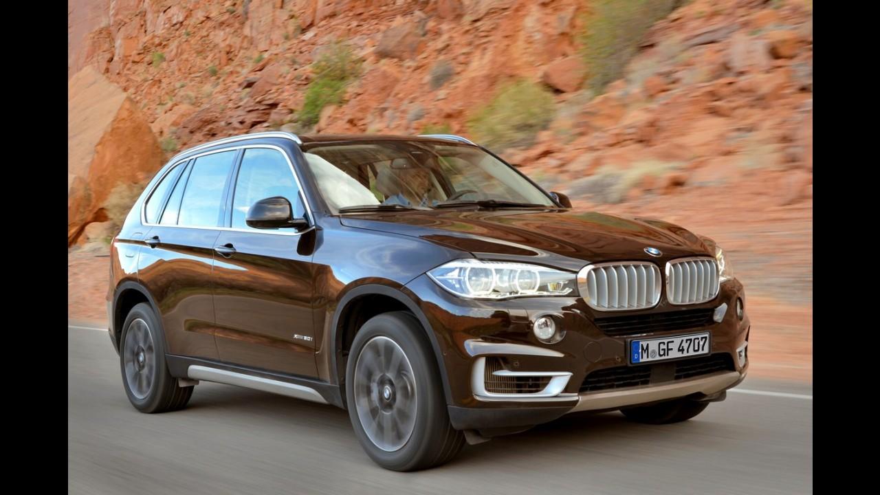 BMW anuncia outro recall no Brasil; X5 2014 tem falha nas travas das portas