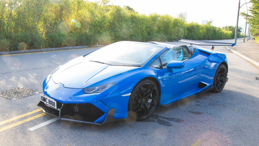 This Huracan Spyder is absolutely evil with 1,088 hp