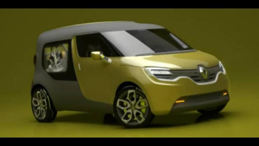 Vídeo: Renault revela o novo Frendzy, o seu novo carro elétrico conceito