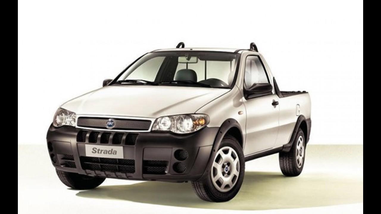 Fiat Strada ganha motor diesel na Europa - Consumo chega a 18,8 km/litro