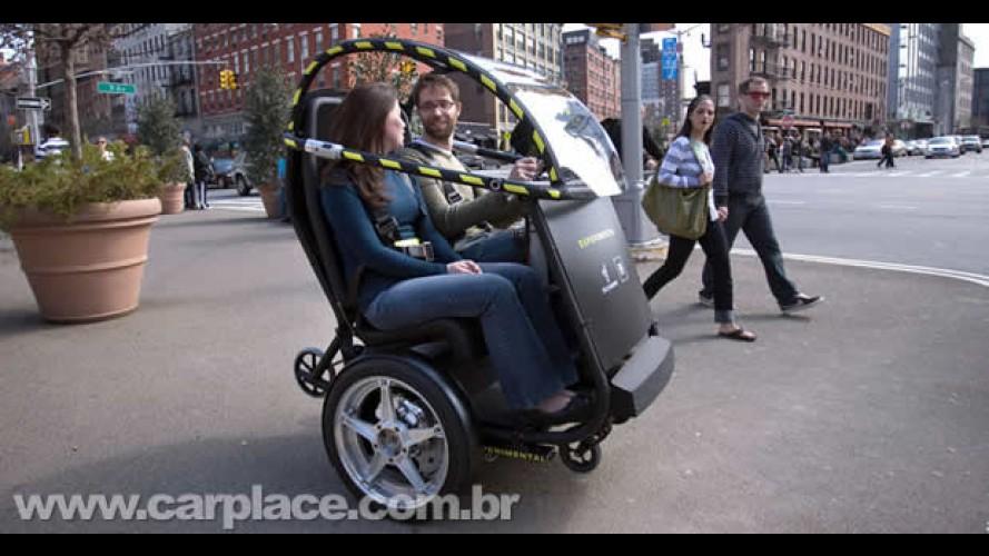 GM Puma Concept 2009 - Novo super-ultra-compacto elétrico tem autonomia de 56km