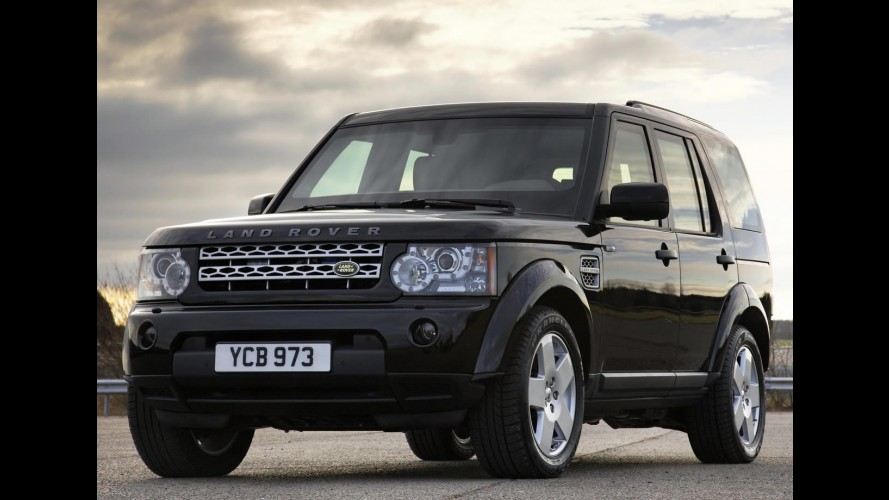 Blindado Oficial Land Rover Discovery 4 Armoured 2011