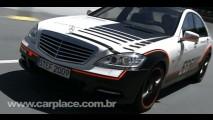 Mercedes S 400 ESF Concept: Vídeo mostra equipamentos do carro mais seguro do mundo