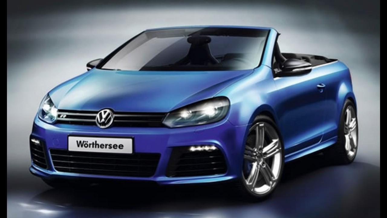 Volkswagen apresenta no Wörthersee 2011 o Golf R Cabriolet Concept