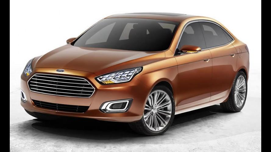 Ford mostrará versão de produção do Escort ainda neste mês na China