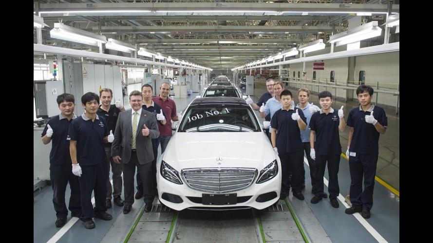 Versão alongada do novo Mercedes Classe C começa a ser produzida na China