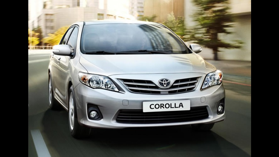 "Confira os itens de série e tabela de preços do ""Novo Corolla 2012"""