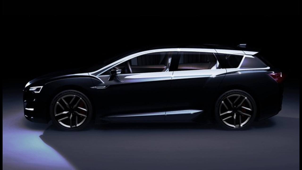 Subaru revela o híbrido Advanced Tourer Concept