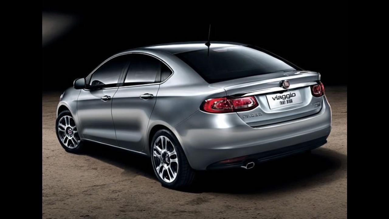 Primeira unidade do Fiat Viaggio sai da linha de montagem na China