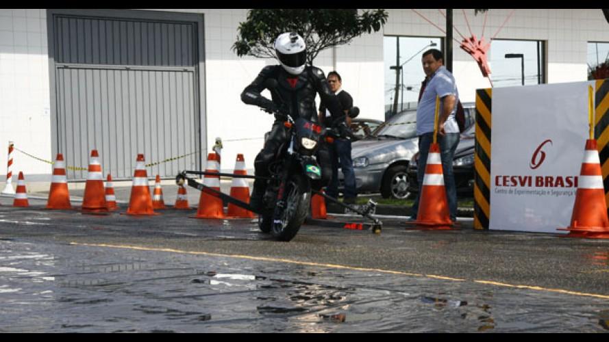 Estudo: apenas 21% das motos no Brasil possuem ABS eletrônico de série