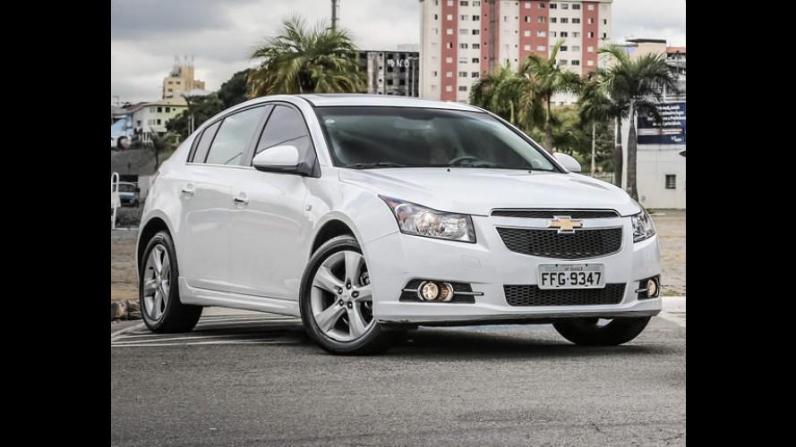 Chevrolet Cruze chega a 3 milhões de unidades vendidas no mundo
